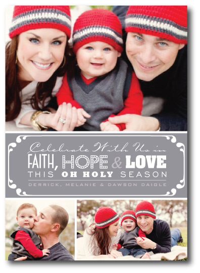 Faith, Hope and Love Front